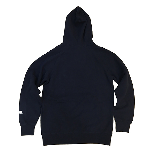 【EXCLUSIVE COLLECTION】【即お届け】【LIVE FIT】【LVFT】LA Hoodie(Navy/White)